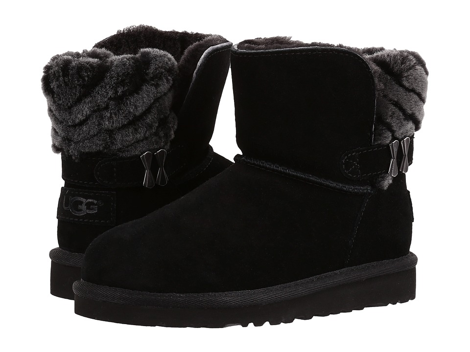 UGG Kids - Analia (Little Kid/Big Kid) (Black) Girls Shoes