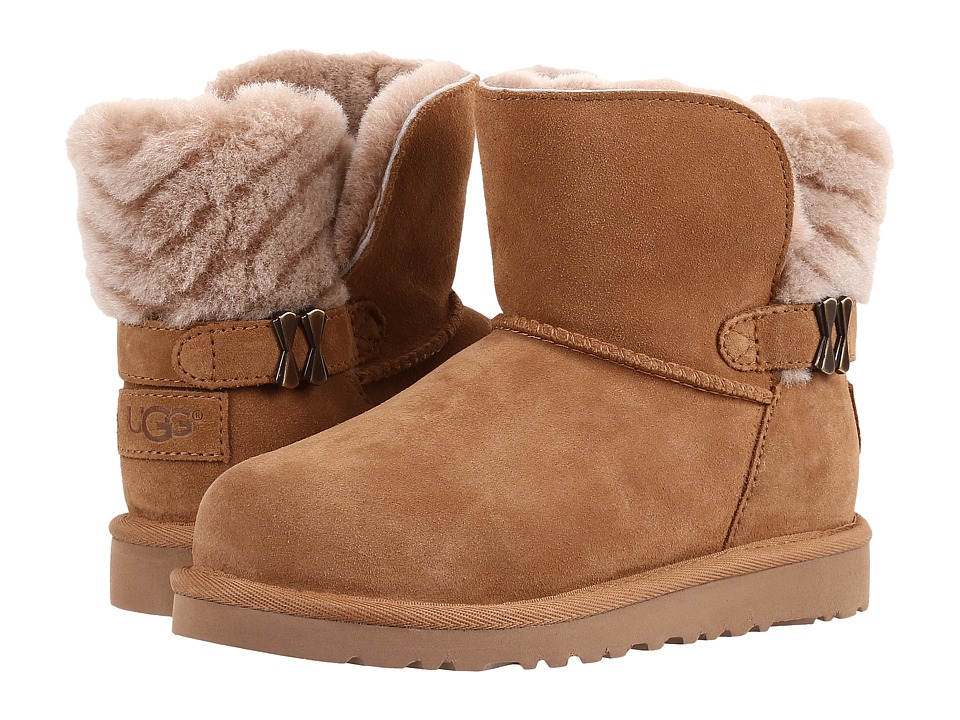 UGG Kids - Analia (Little Kid/Big Kid) (Chestnut) Girls Shoes