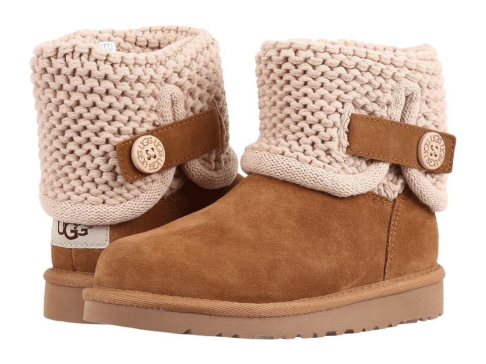 UGG Kids - Darrah (Little Kid/Big Kid) (Chestnut) Girls Shoes