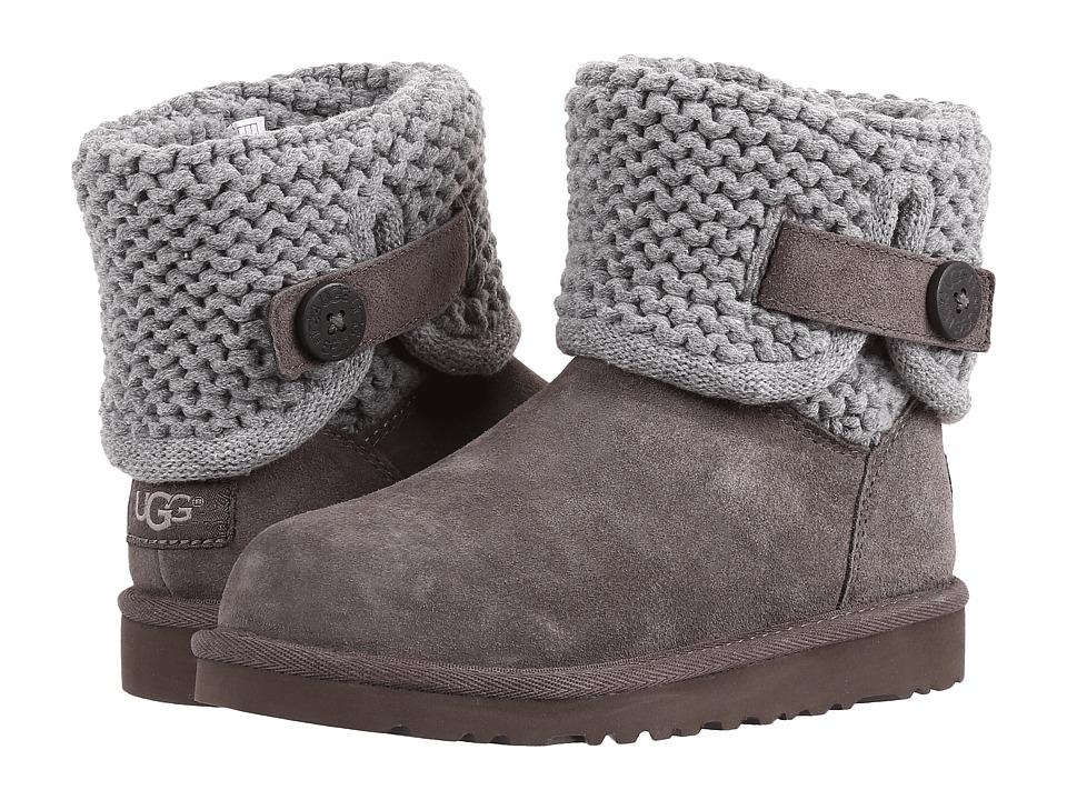 UGG Kids - Darrah (Little Kid/Big Kid) (Grey) Girls Shoes