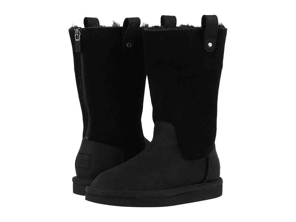 UGG Kids - Jesslyn (Little Kid/Big Kid) (Black) Girls Shoes