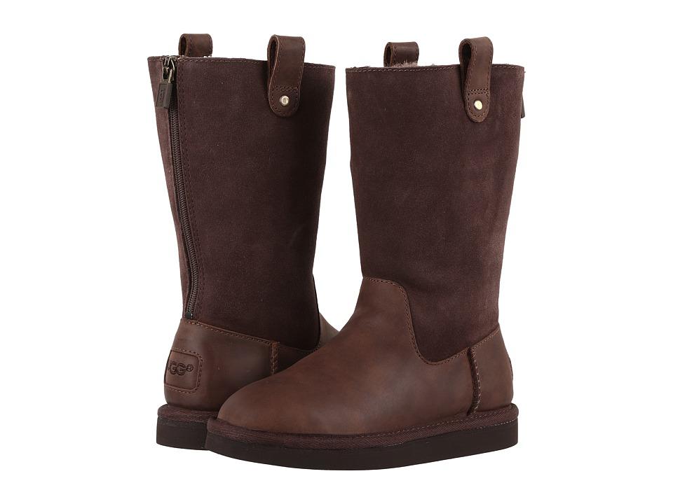 UGG Kids Jesslyn (Little Kid/Big Kid) (Chocolate) Girls Shoes