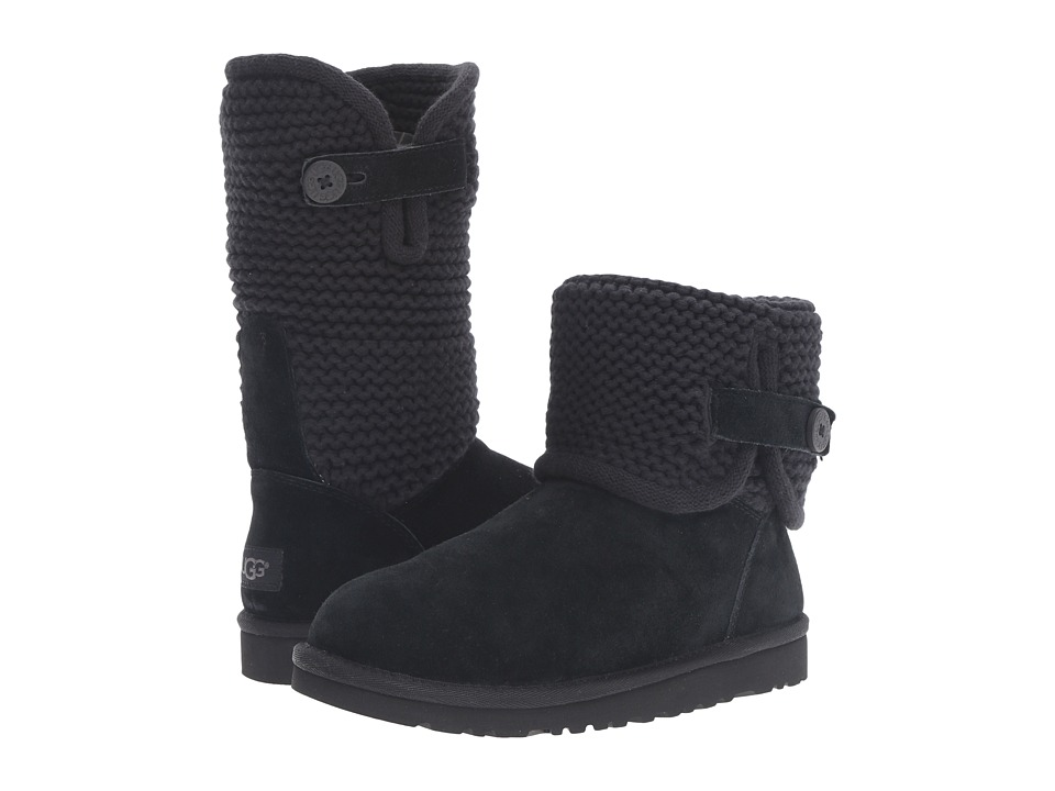 UGG Kids - Darrah (Big Kid) (Black) Girls Shoes