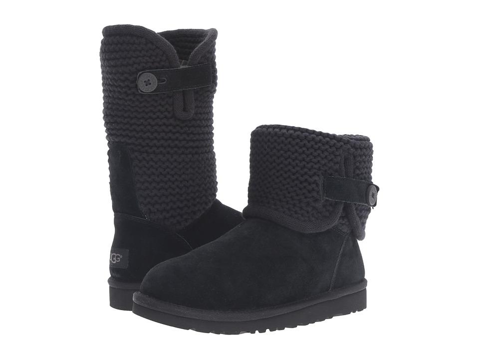 UGG Kids - Darrah (Big Kid) (Black) Girls Shoes