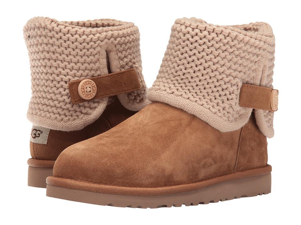 UGG Kids - Darrah (Big Kid) (Chestnut) Girls Shoes