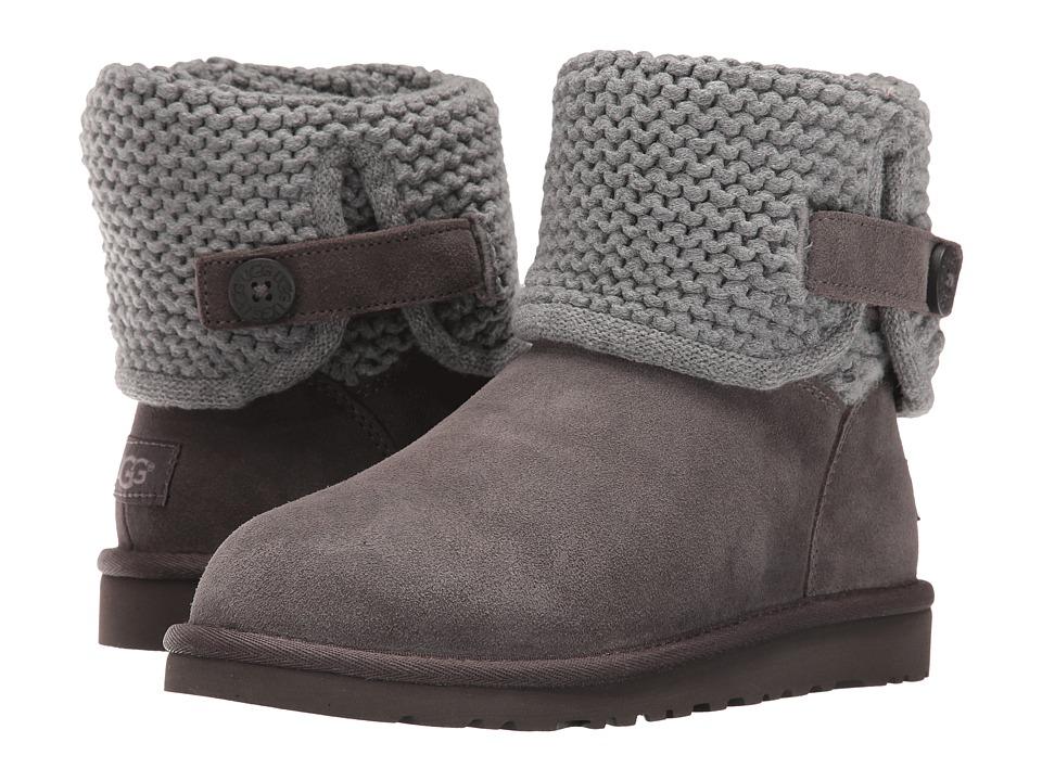 UGG Kids - Darrah (Big Kid) (Grey) Girls Shoes