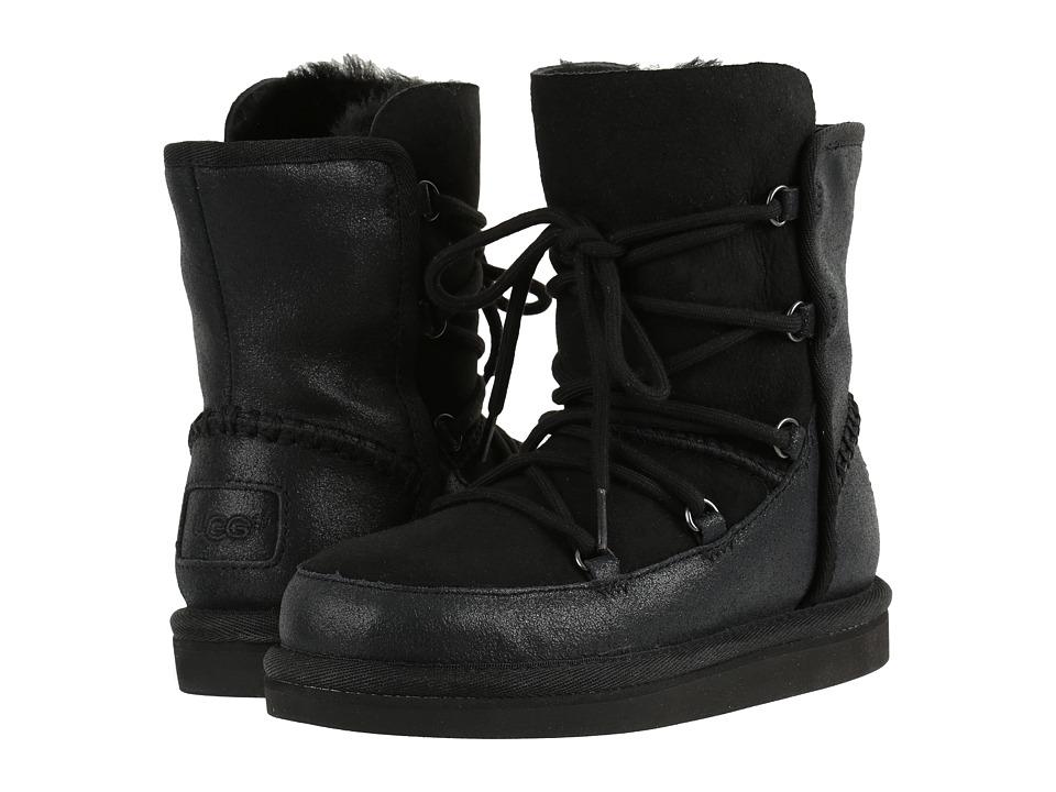 UGG Kids - Eliss (Little Kid/Big Kid) (Black) Girls Shoes