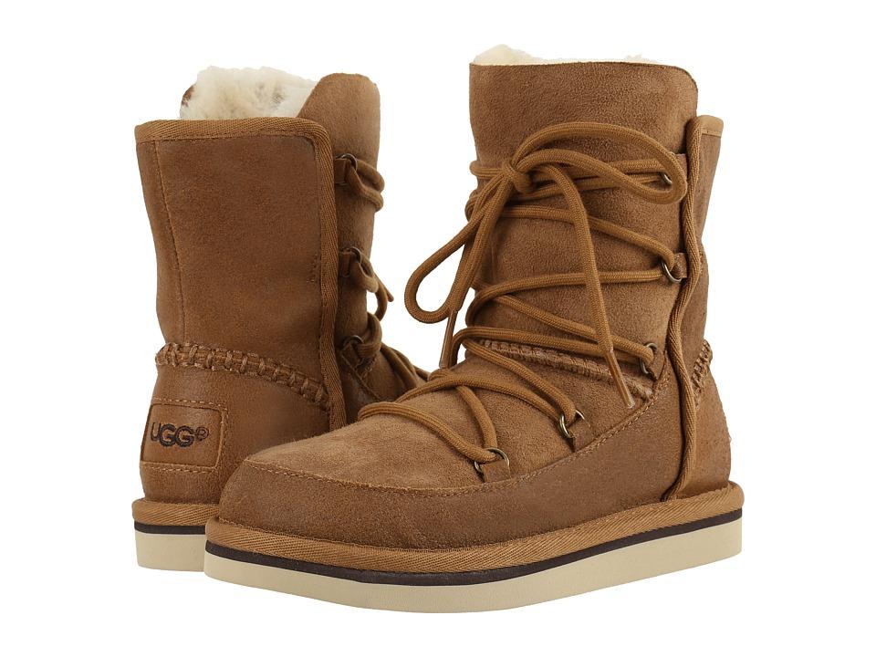 UGG Kids - Eliss (Little Kid/Big Kid) (Chestnut) Girls Shoes