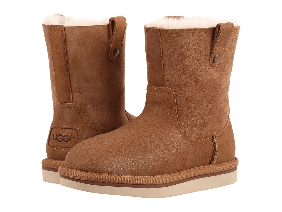 UGG Kids Haydee (Little Kid/Big Kid) (Chestnut) Girls Shoes