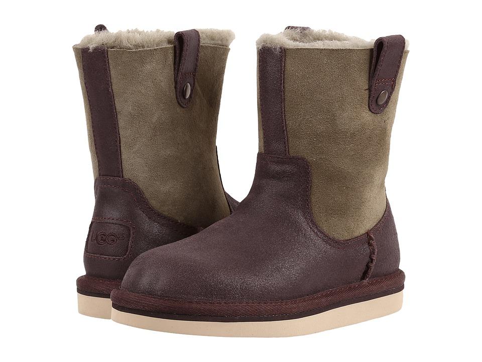 UGG Kids Haydee (Little Kid/Big Kid) (Chocolate) Girls Shoes