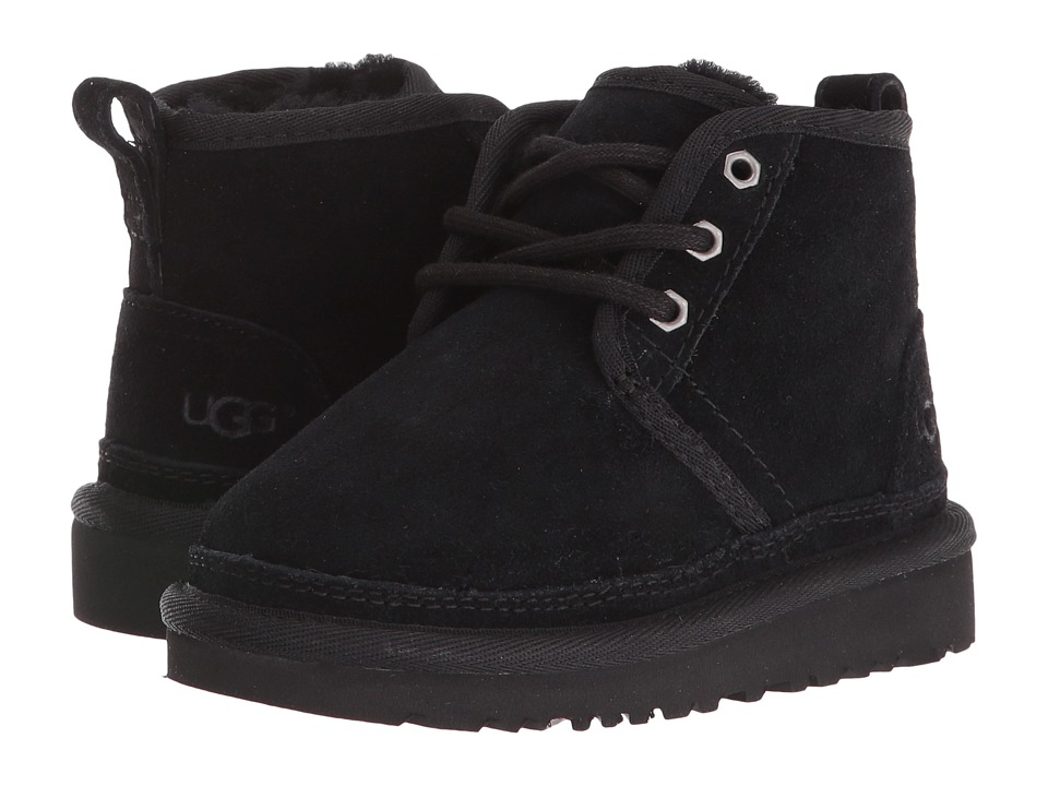 UGG Kids - Neumel (Toddler/Little Kid) (Black) Kids Shoes