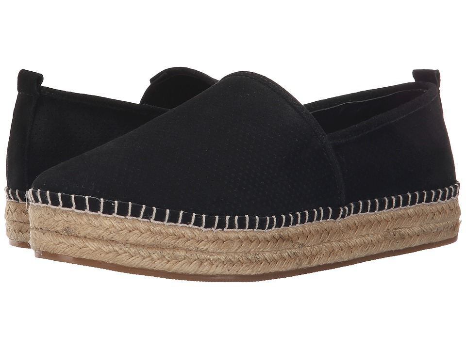 Steve Madden - Peppa (Black Suede) Women's Flat Shoes