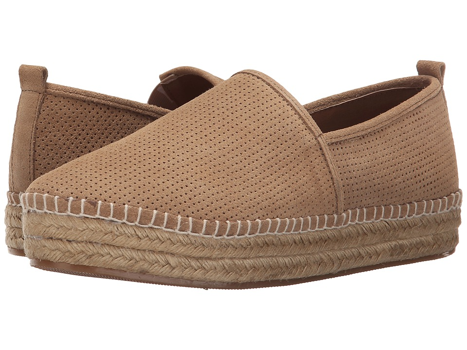 Steve Madden - Peppa (Taupe Suede) Women's Flat Shoes