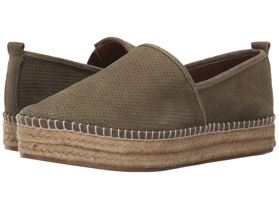 Steve Madden - Peppa (Olive Suede) Women's Flat Shoes