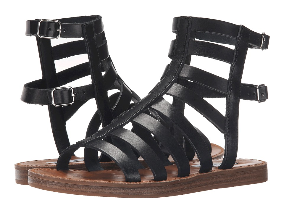 Steve Madden - Beeast (Black Leather) Women