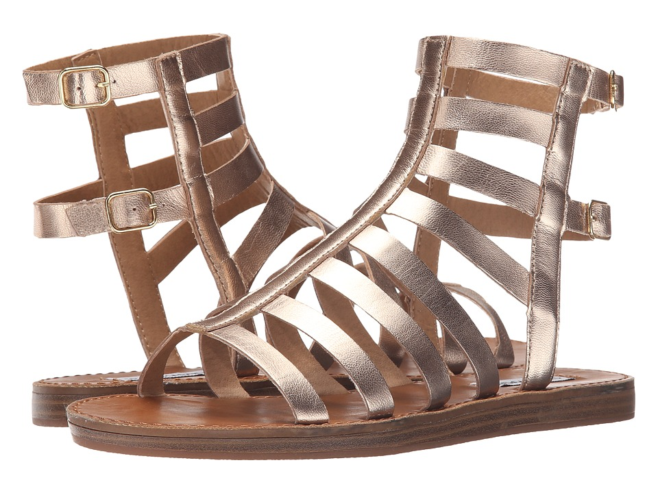Steve Madden - Beeast (Gold Leather) Women