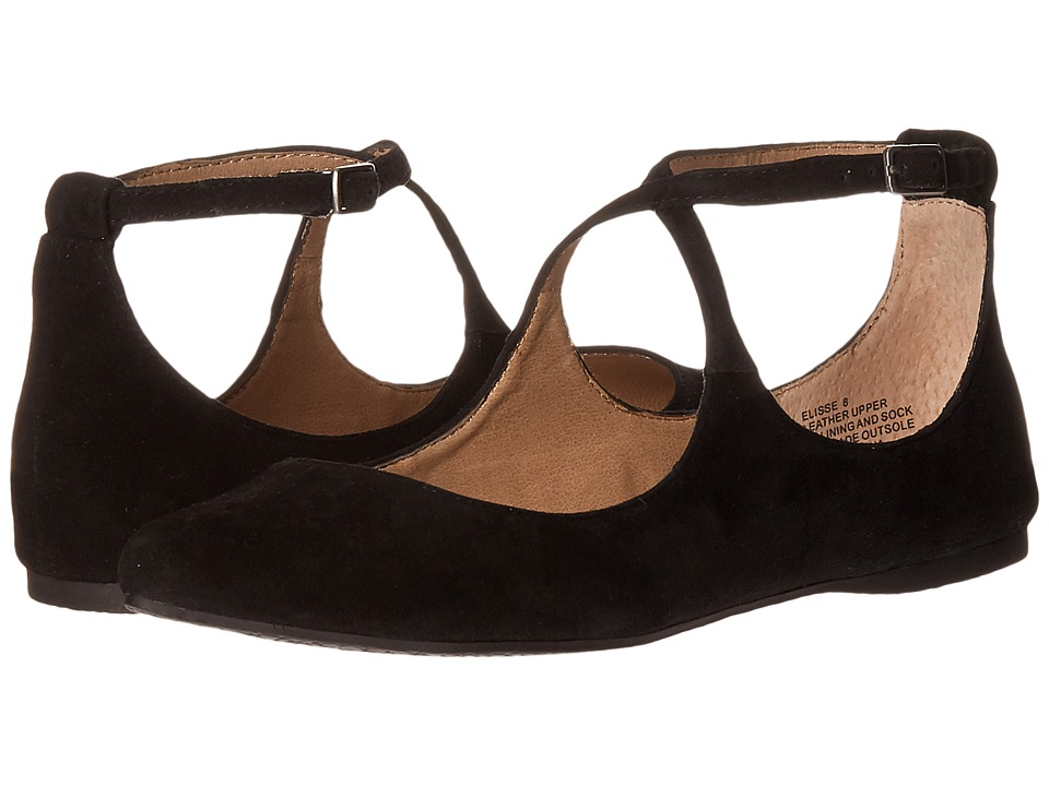 Steve Madden - Elisse (Black Suede) Women's Shoes