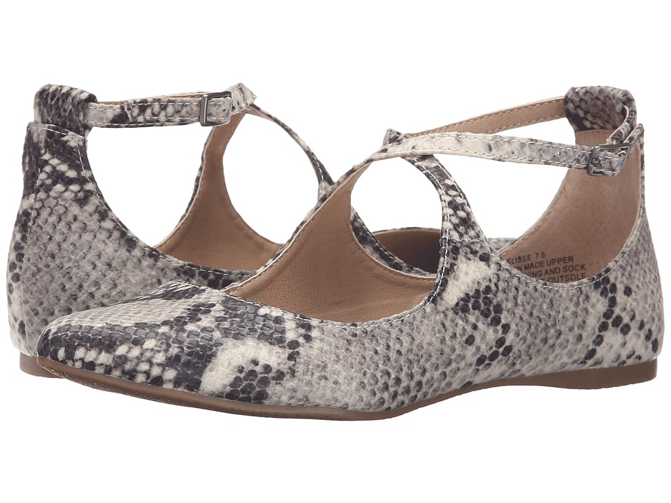 Steve Madden - Elisse (Natural Snake) Women's Shoes