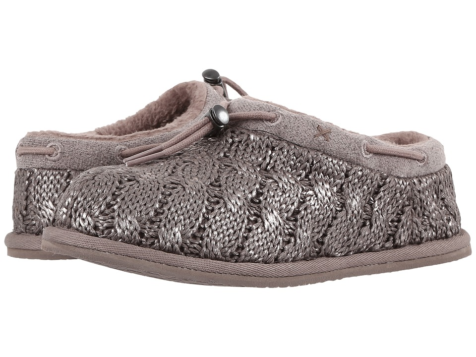 UGG Kids - Freesia Cable Knit (Little Kid/Big Kid) (Stormy Grey) Girls Shoes