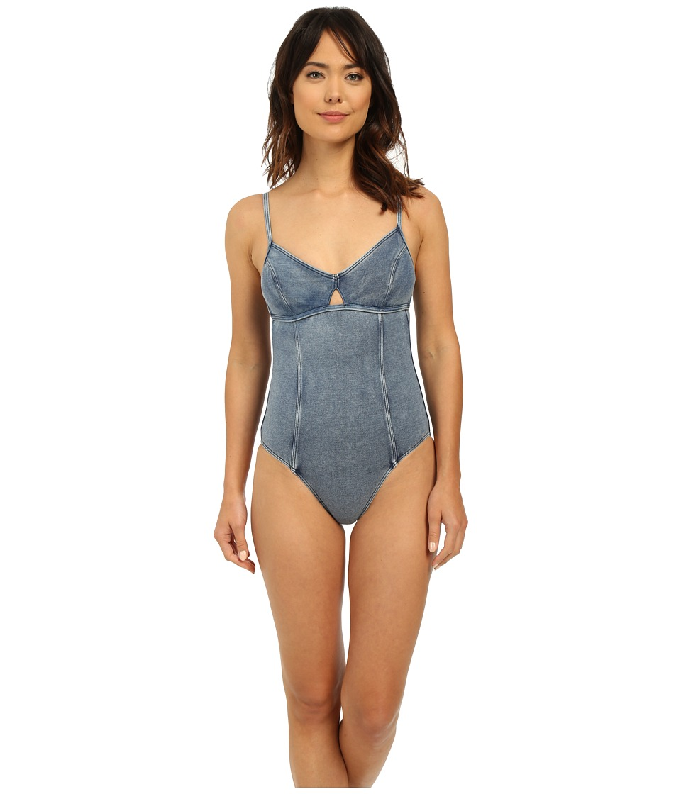 Seafolly - Deja Blue Maillot (Denim) Women's Swimsuits One Piece