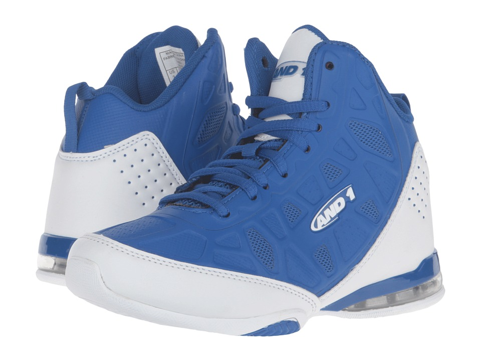 AND1 Kids Master 3 (Little Kid/Big Kid) (Royal/White) Boys Shoes