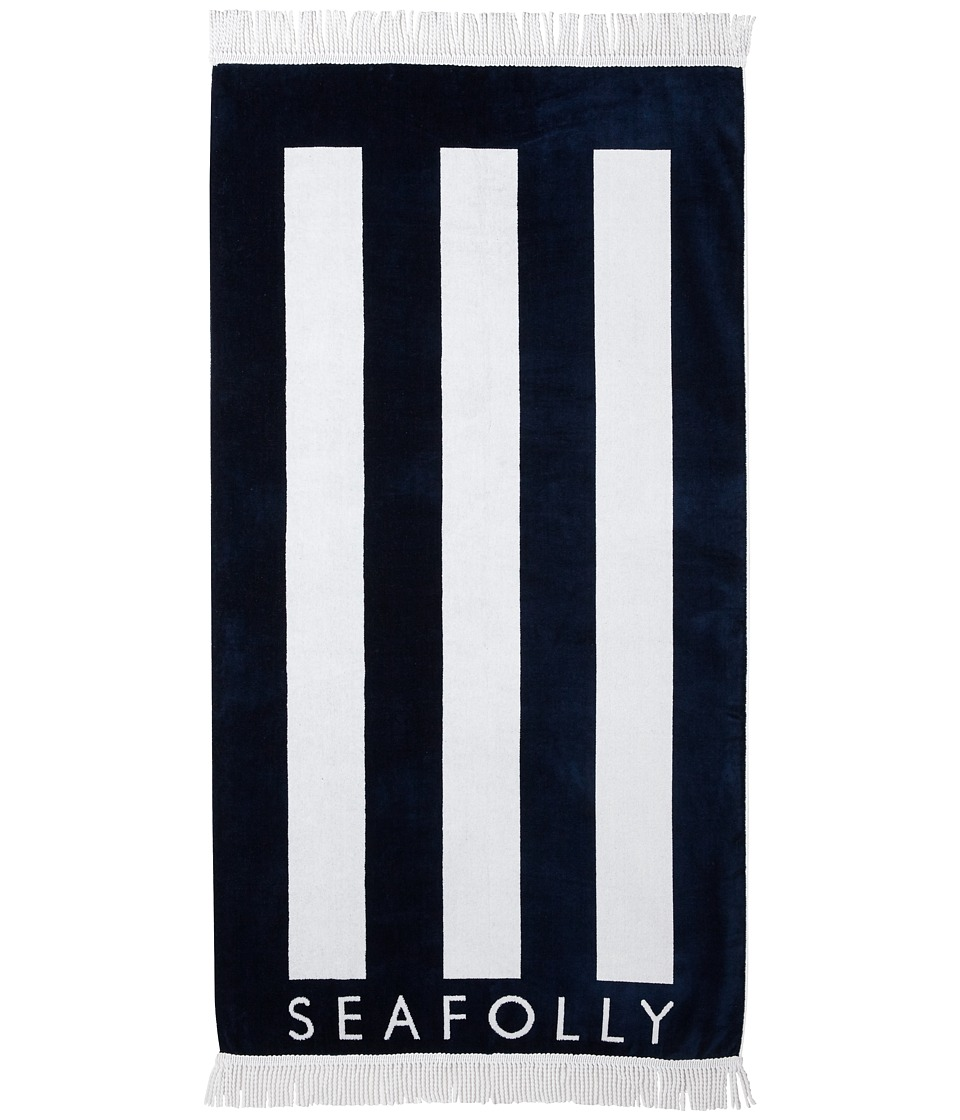 Seafolly - Party Trick Towel (Indigo) Bath Towels