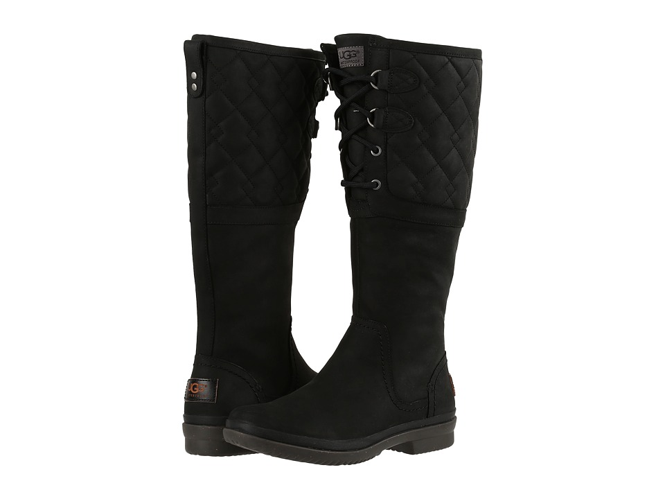 UGG Elsa Deco Quilt (Black) Women