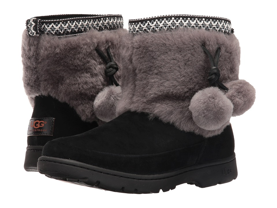 UGG - Brie (Black) Women's Boots