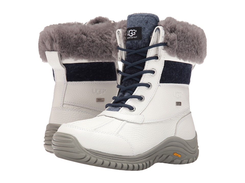 UGG - Adirondack Boot II (White 2) Women's Cold Weather Boots