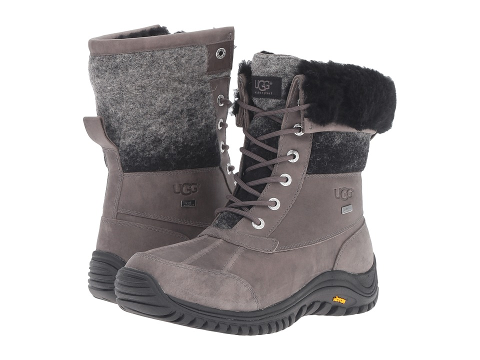 UGG - Adirondack Boot II (Charcoal) Women's Cold Weather Boots
