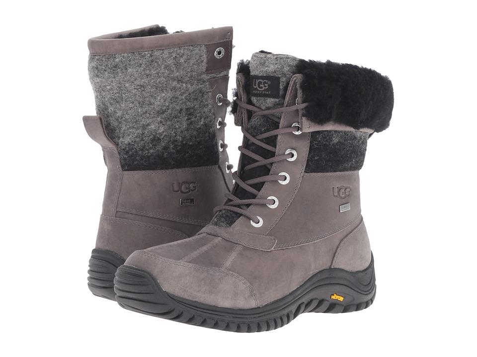 UGG - Adirondack Boot II (Charcoal) Women's Cold Weather Boots