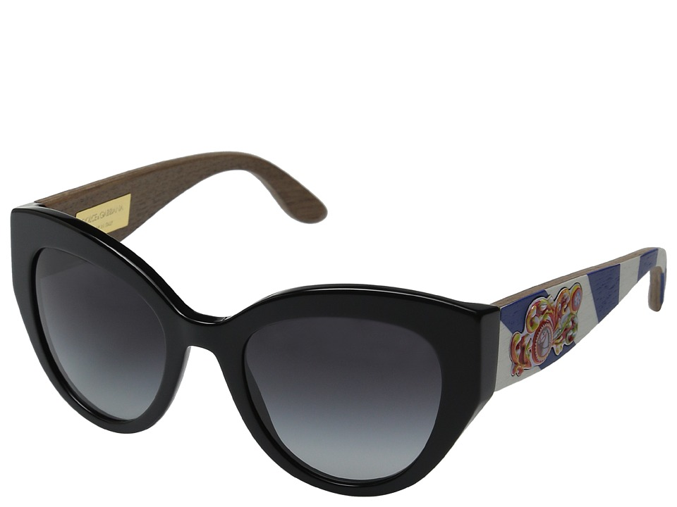 Dolce & Gabbana - 0DG4278 (Hand Painted Black/Grey Gradient) Fashion Sunglasses