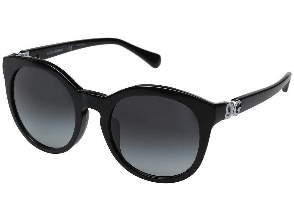 Dolce & Gabbana - 0DG4279F (Black/Grey Gradient) Fashion Sunglasses