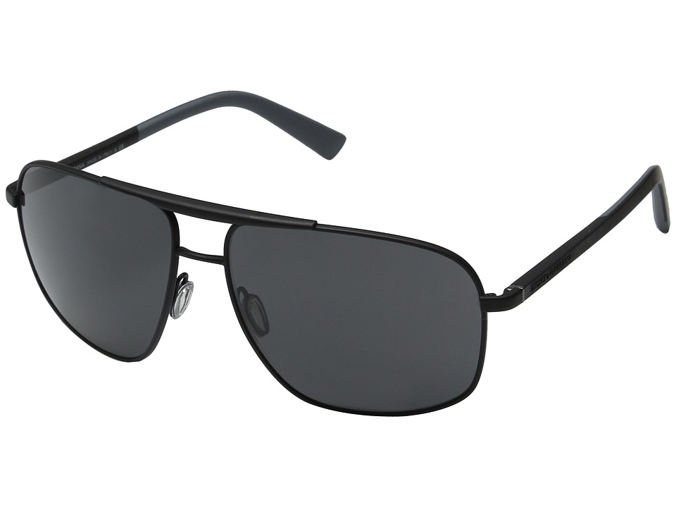 Dolce & Gabbana - 0DG2154 (Rubber Black/Grey) Fashion Sunglasses