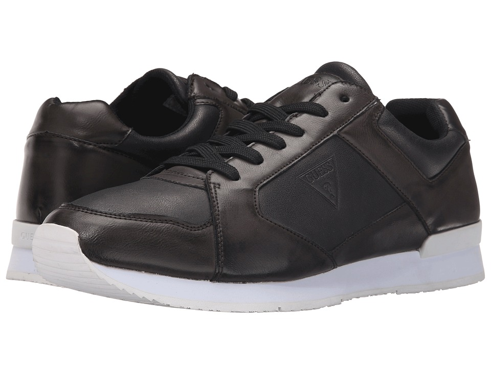 GUESS - Nasher (Black) Men's Shoes