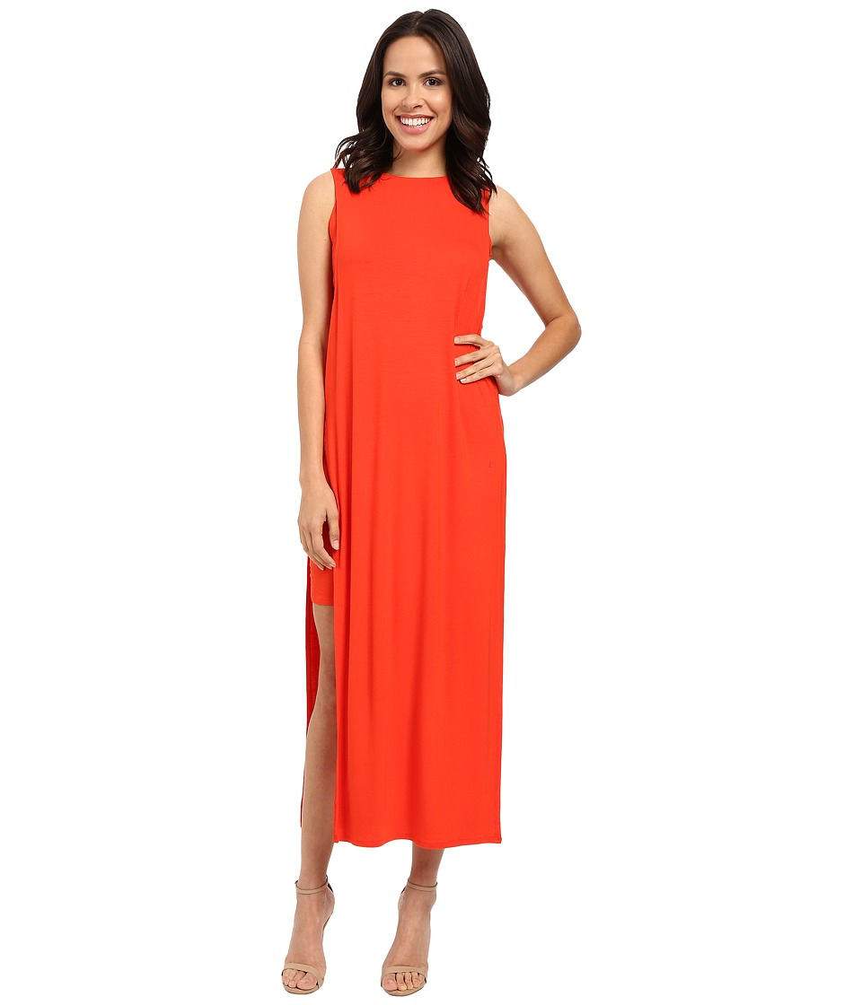 CATHERINE Catherine Malandrino Dot Dress (Redrum Orange) Women
