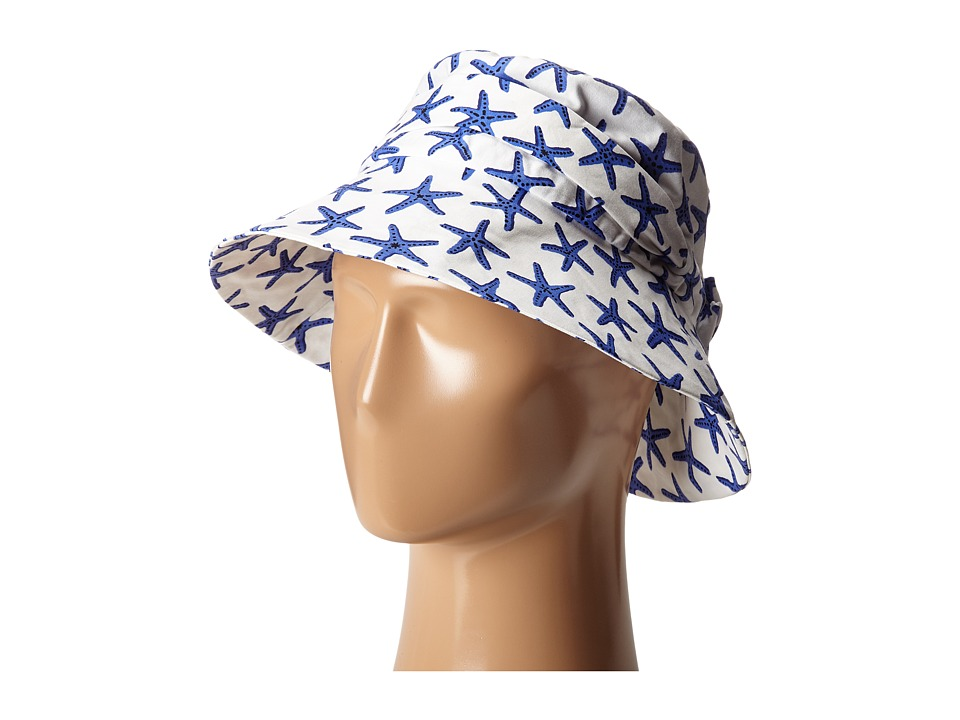 Kate Spade New York - Starfish Sun Hat (Adventure Blue) Traditional Hats