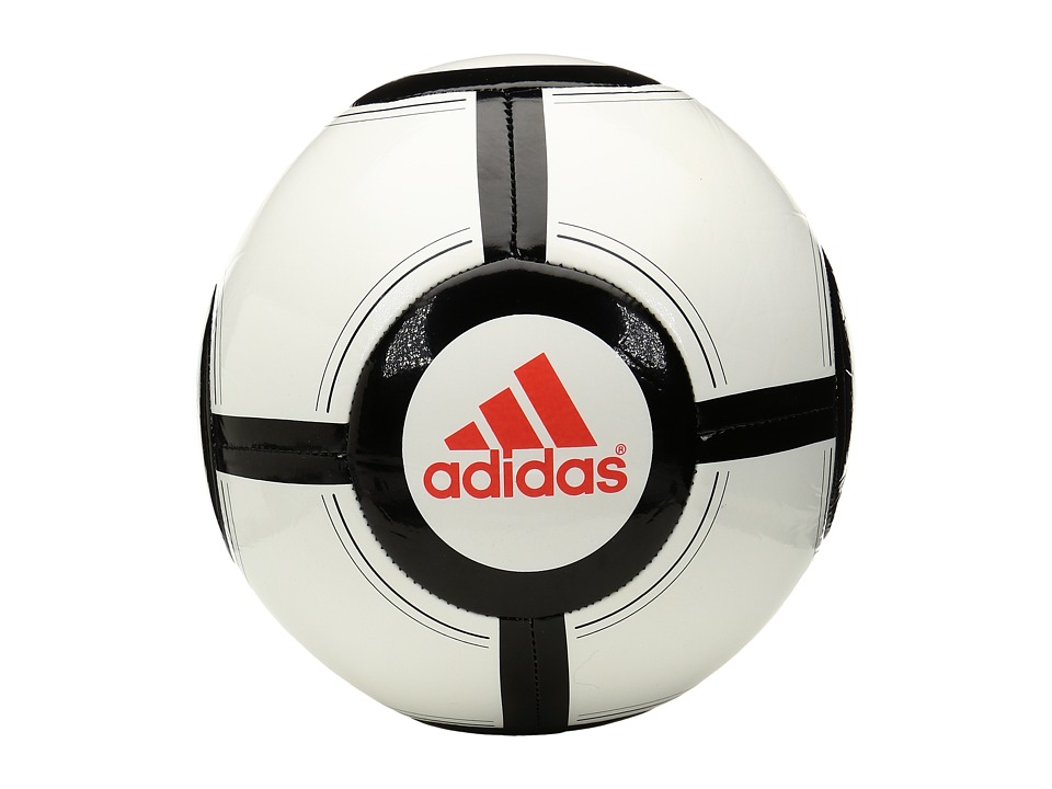 adidas - Ace Glider II (White/Black/Solar Red) Athletic Sports Equipment