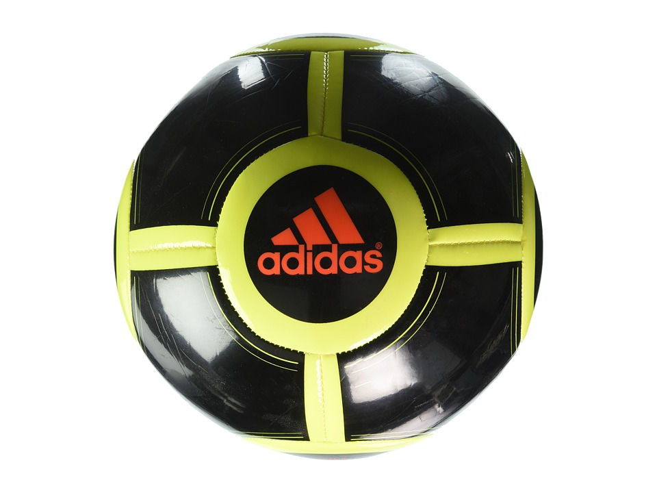 adidas - Ace Glider II (Black/Solar Yellow/Solar Red) Athletic Sports Equipment