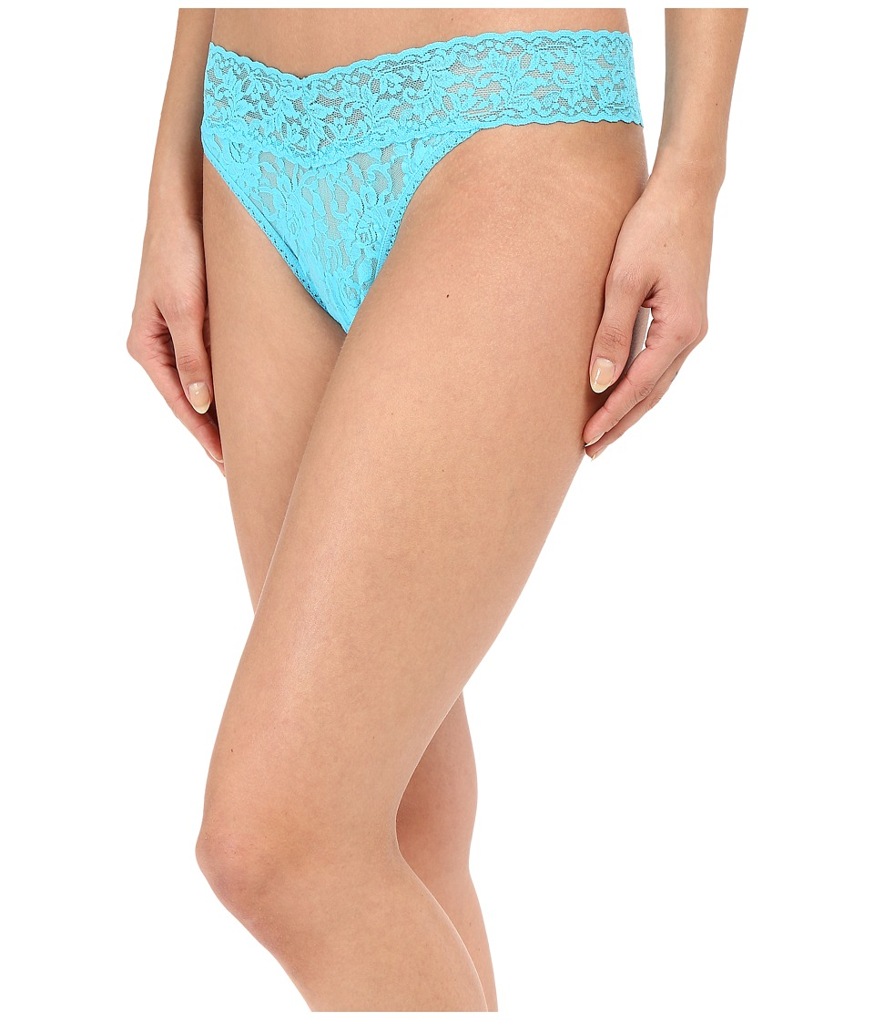 Hanky Panky - Signature Lace Original Rise Thong (Calypso) Women's Underwear