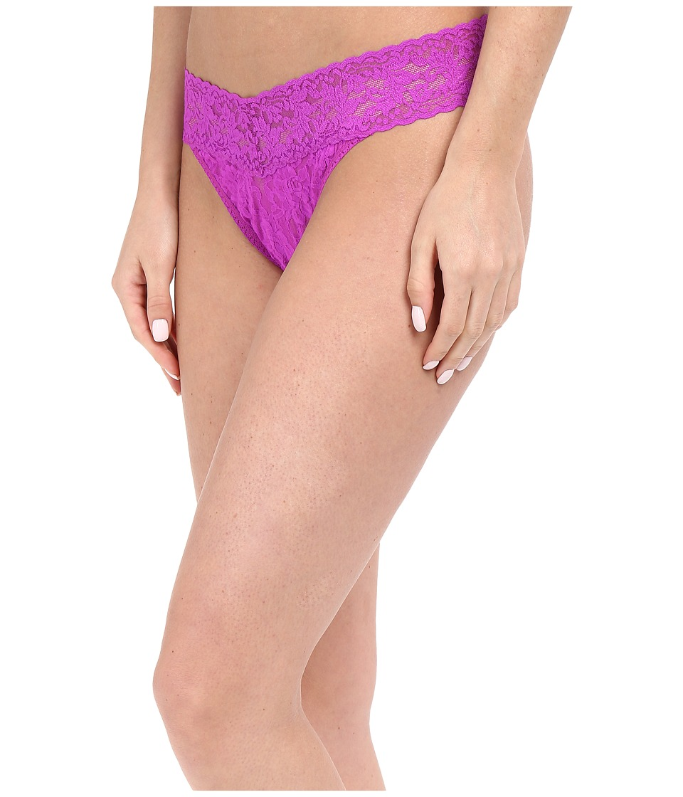 Hanky Panky - Signature Lace Original Rise Thong (Wild Orchid) Women's Underwear