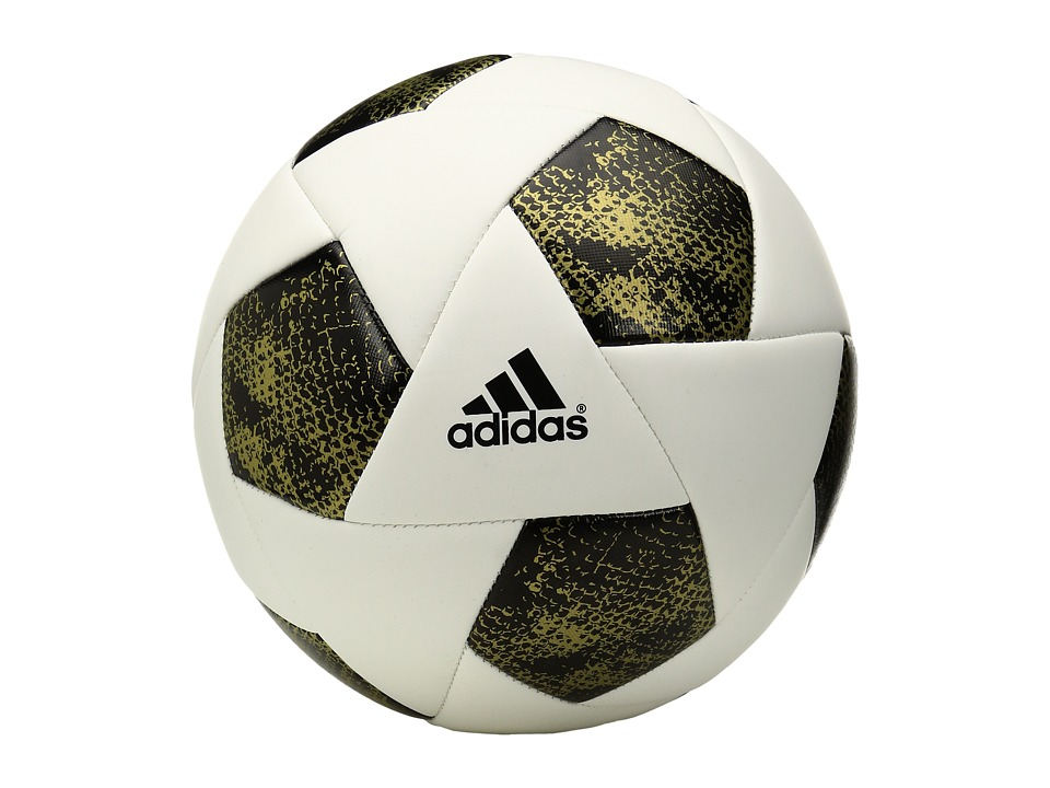 adidas - X Glider (White/Black/Gold Metallic) Athletic Sports Equipment