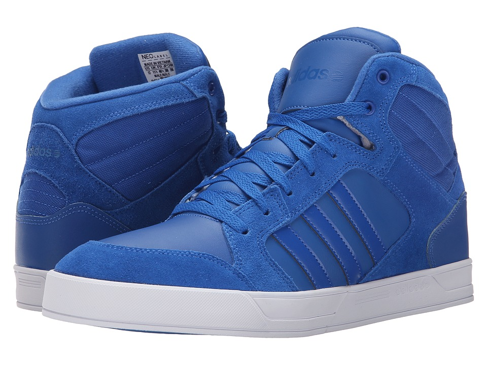 adidas - Raleigh Mid (Blue/Blue/Flash White) Men's Shoes