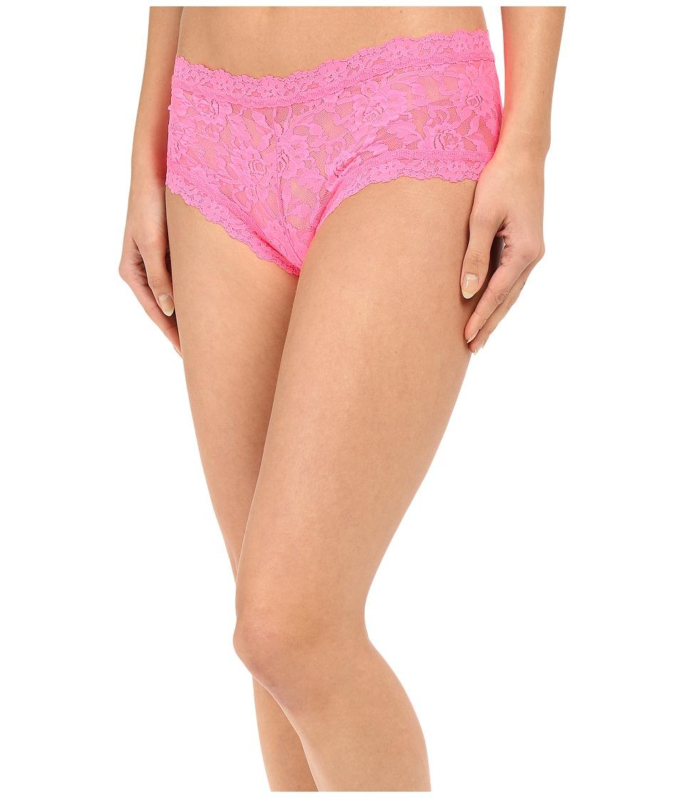 Hanky Panky - Signature Lace Boyshort (Sizzle Pink) Women's Underwear