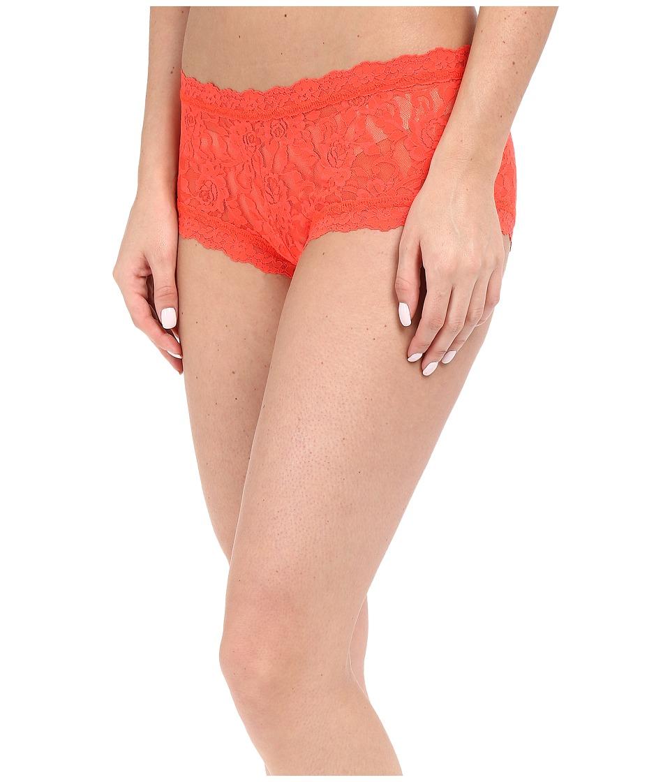 Hanky Panky - Signature Lace Boyshort (Salsa) Women's Underwear