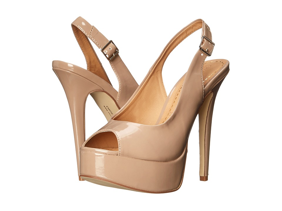 Chinese Laundry Abba Patent (New Nude) High Heels