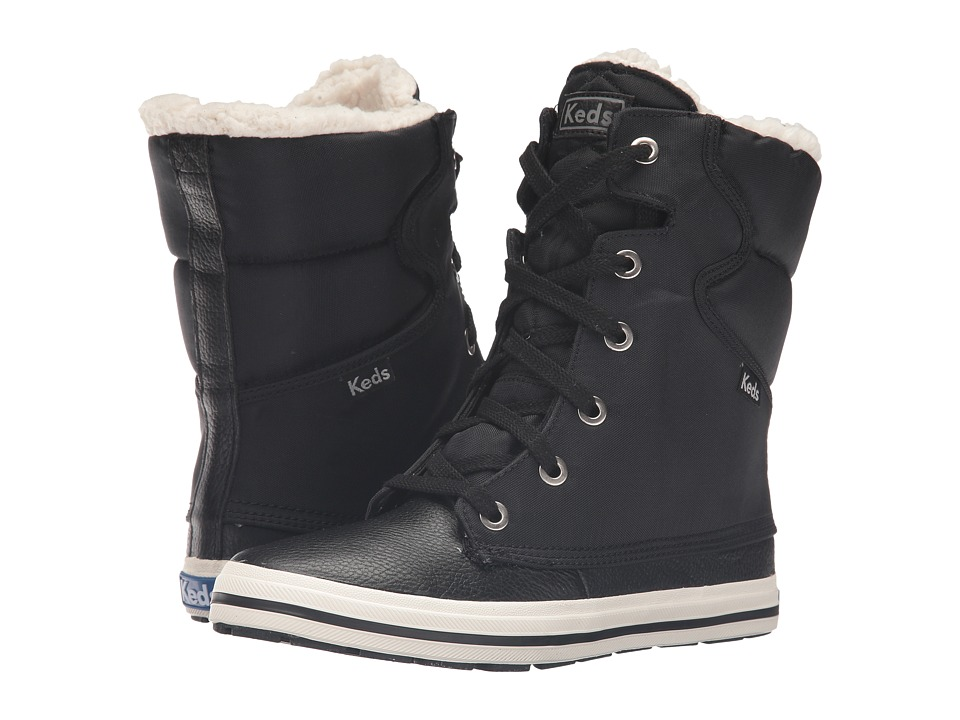 Keds - Patrol (Black) Women's Lace-up Boots