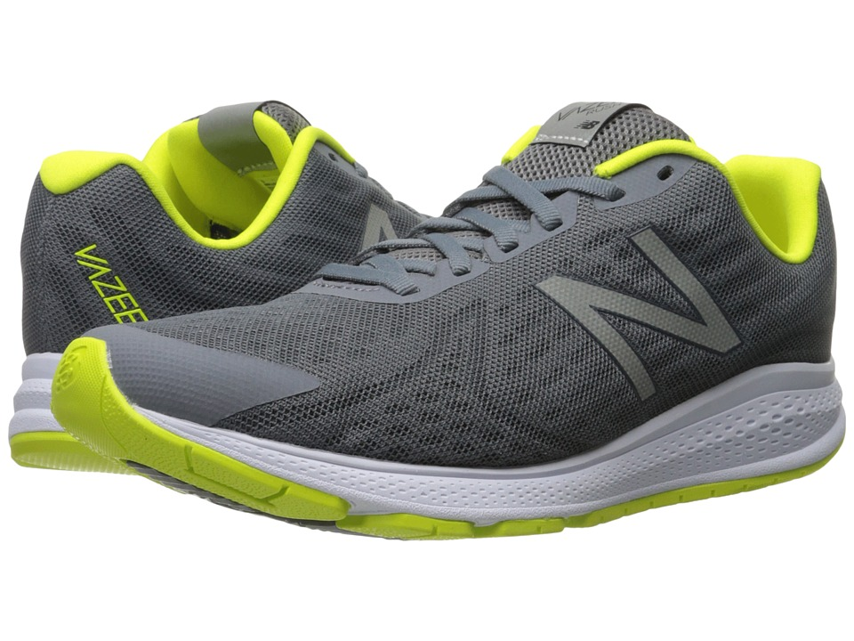 New Balance - Vazee Rush v2 (Grey/Yellow) Men's Running Shoes