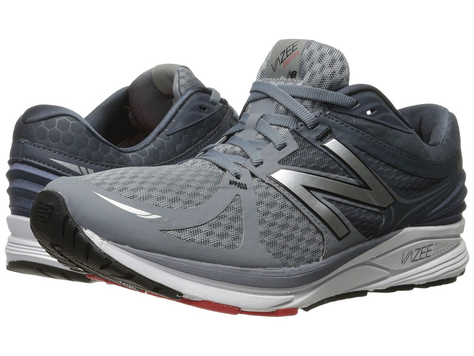 New Balance - Vazee Prism (Grey/Red) Men's Running Shoes