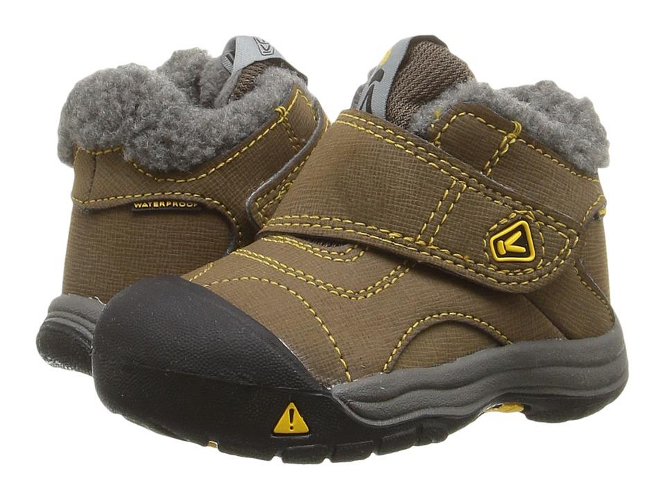 Keen Kids - Kootenay WP (Toddler) (Dark Earth/Spectra) Kids Shoes
